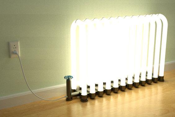 Radiator lamp by Steve Faletti on yankodesign.com
