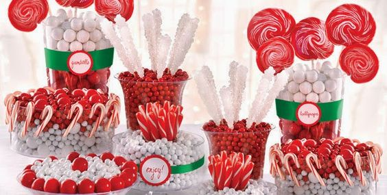 Christmas Candy Buffet | Christmas | Pinterest | Christmas candy ...