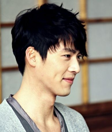 Hyun Bin. Just noticed in Come Rain Come Shine that he smiles with dimples and can't get enough of him since then