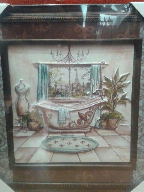 Cuadros en relieve para baño. | Marcos deresina | Pinterest