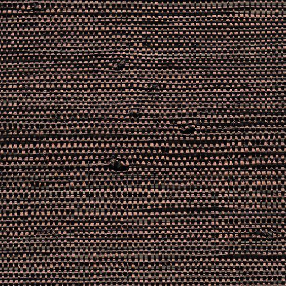 Revêtement mural en abaca et fils métalliques (Élitis)