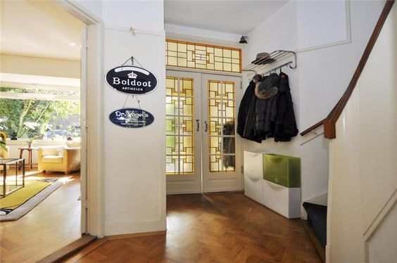 Jaren 30 Keuken Te Koop : Glas in lood klapdeuren in hal jaren '30 Huis te koop: Prinses