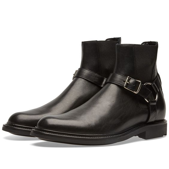 Saint Laurent Army Chelsea Boot (Black)