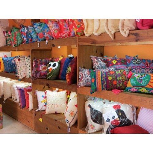 decoração com almofadas de fuxico - Pesquisa Google