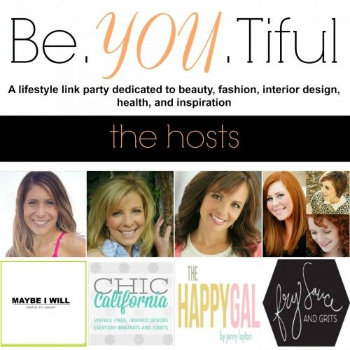 Be.YOU.tiful Link Party #31 - Maybe I Will