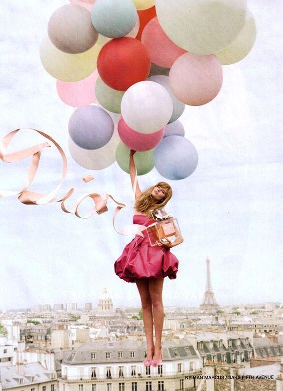 start of a balloon adventure