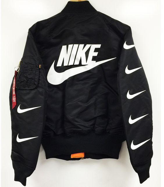 nike air flight squad ma-1 flight jacket