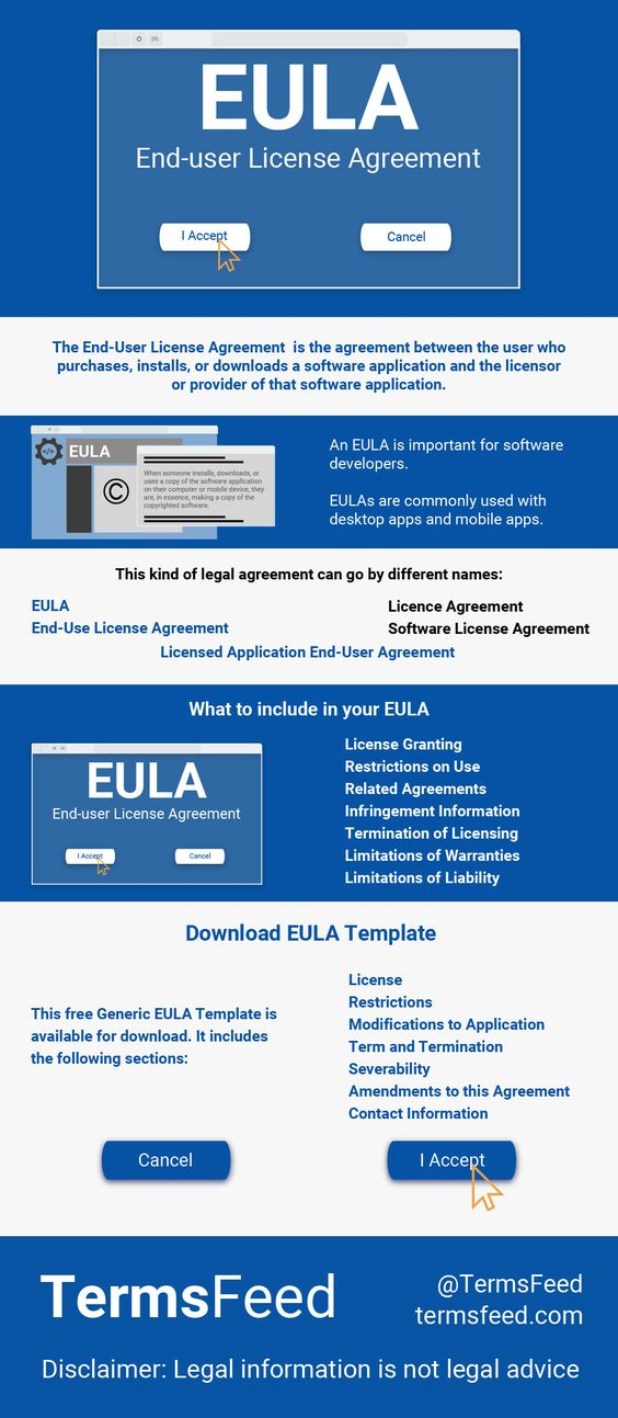 Download a sample EULA agreement template for your mobile or - software license agreement template