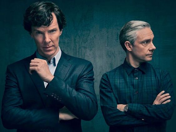 Holmes and Watson look extra pensive in 'Sherlock' season 4 image!