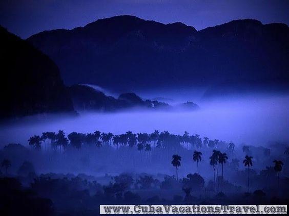 Dawn at vale of Vinales, Viñales. Pinar del Rio