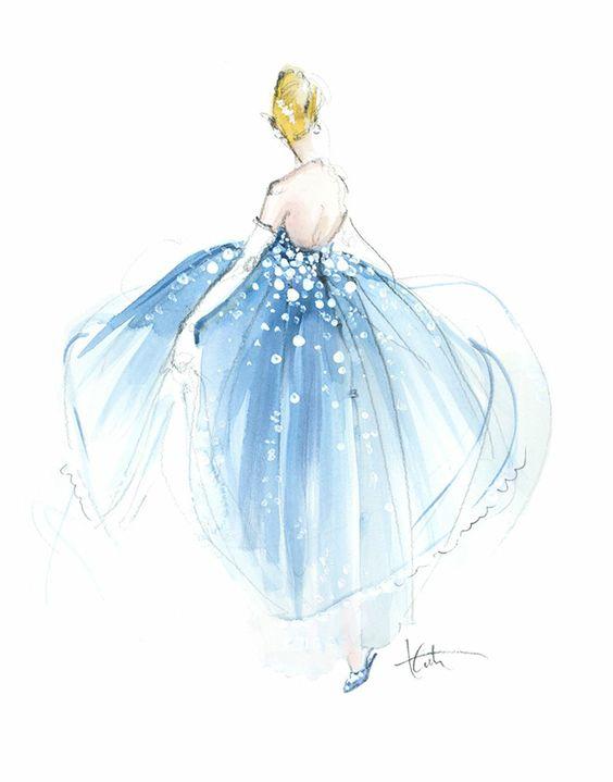 画像 素敵!!ドレスのファッションイラスト デザイン画 おしゃれ Naver まとめ