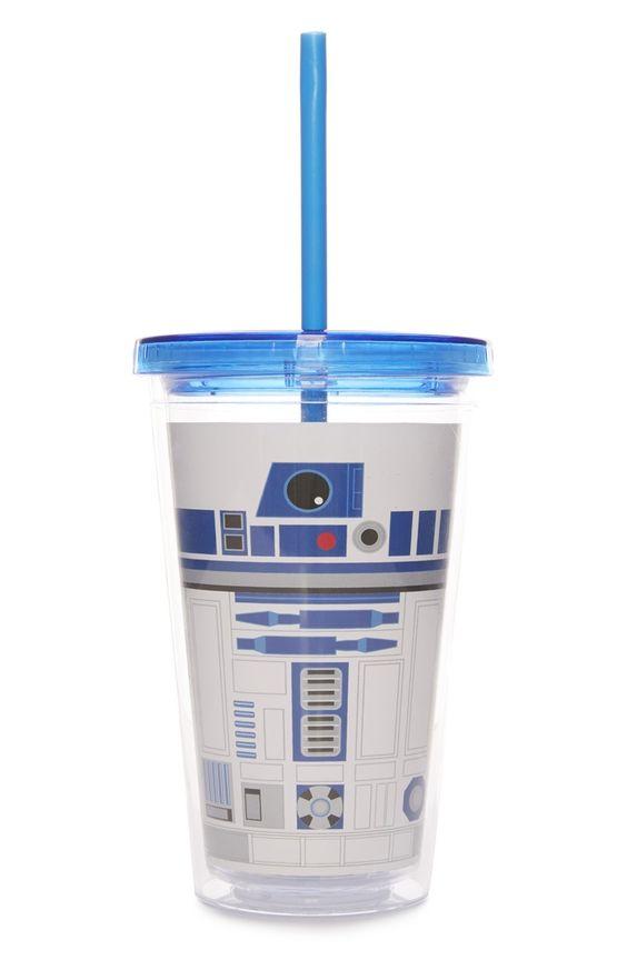 """""""Star Wars R2D2"""" Strohhalmbecher"""
