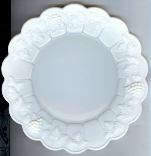 "Paneled Grape Salad Plates, 8½"". $11.99/Set of 2 at mhmckay on ebay, 9/8/15"