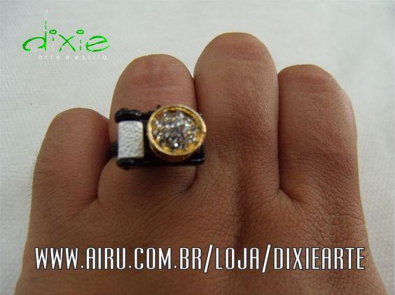 Anel Câmera  www.airu.com.br/loja/dixiearte