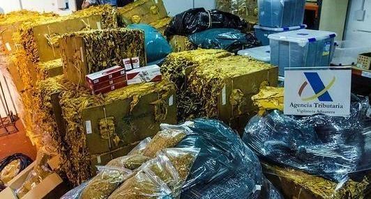 Incautan más de 5 toneladas de tabaco de contrabando en Navamoral - 45600mgzn