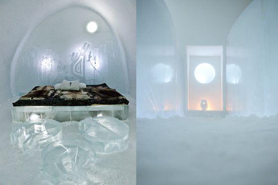 Icehotel, Jukkasjärvi, northern Sweden.