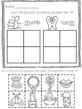 Printables Digraph Worksheets digraph printables worksheets 10 print and go worksheets