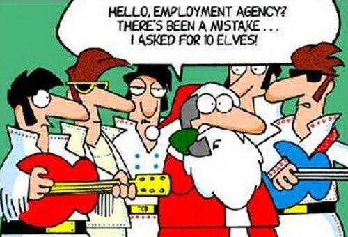 Elfs! NOT Elvis!!! www.ForLadiesOnlyParty.com: