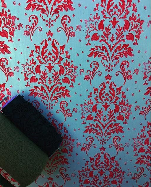 Pattern Paint Roller Pattern Wall Decor Roller Paint Roller