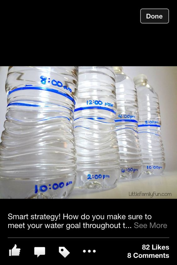 Down that water strategy