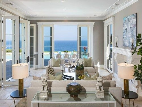 Inside Beach Mansions Luxury Design Inside A Malibu Beach House Click