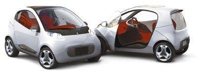 Prototype:  Pininfarina's Nido Ultra Compact Car