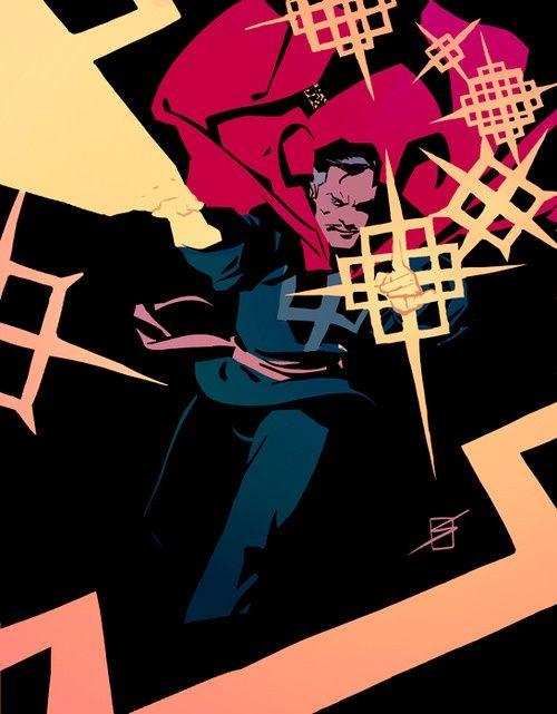 Doctor Strange by Ronald Salas