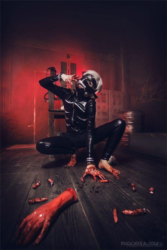 Tokyo Ghoul -  Ken Kaneki Cosplay Photo