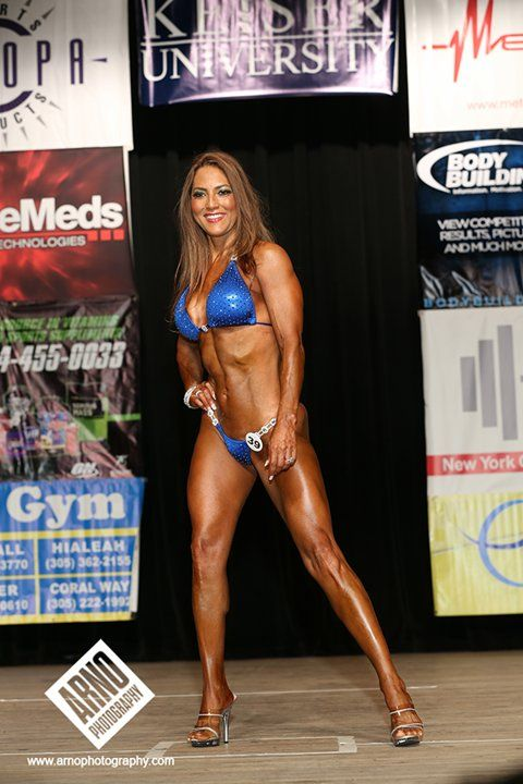 Bodybuilding's New Breed: Tanned, Toned, and Over 50