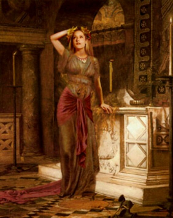 Aphrodite As The Oracle Of Delphi Aphrodite And The