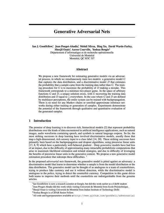 Generative Adversarial Nets