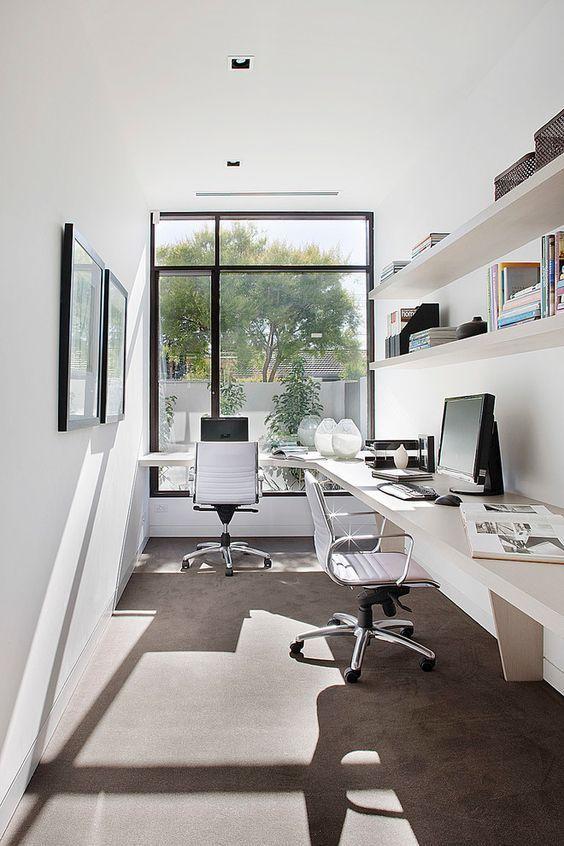 Top 10 Stunning Home Office Style Homeofficeideas Homeofficedesign Homeofficeikea Home Contemporary Home Office Contemporary Home Offices Small Office Design
