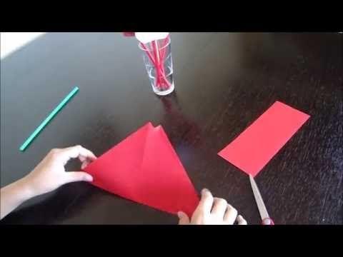 Jak Zrobic Tulipana Z Papieru Youtube Make It Yourself Origami Film