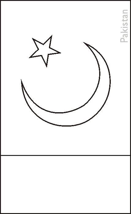 pakistani flag coloring pages - photo#17