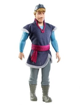Even in summer- you always need a Kristoff doll