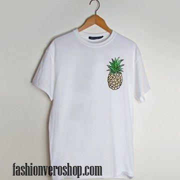 Pinapple t shirt men and t shirt women by fashionveroshop