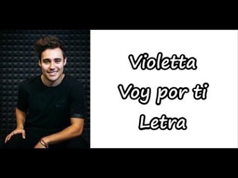Violetta Voy Por Ti Letra Youtube Disney Records Walt Disney Records Disney Music