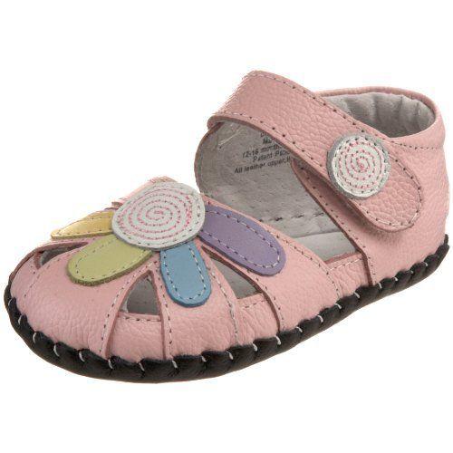 pediped Originals Daisy Crib Shoe (Infant): http://www.amazon.com/pediped-Originals-Daisy-Crib-Infant/dp/B00427YWZ6/?tag=greavidesto05-20