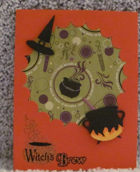 I just listed Witches Brew A2 handmade Halloween greeting card witch colorful cauldron on The CraftStar @TheCraftStar #uniquegifts