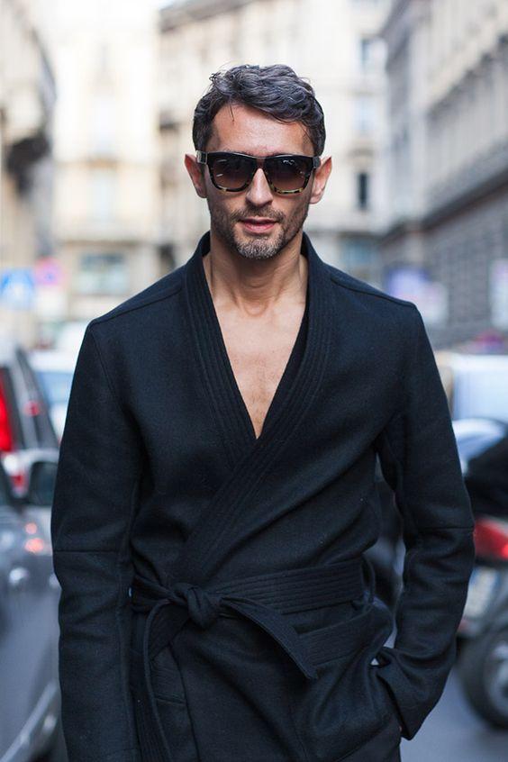 Simone Marchetti at Milan fashion week SS15   Street style photographed by Ashka Shen   Xssat Street Fashion
