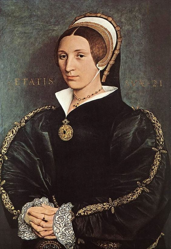 1540-1541  Elizabeth Seymour-Cromwell by Hans Holbein the Younger  also called Catherine Howard