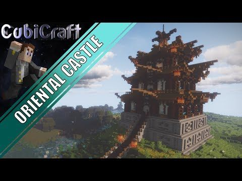 13 Detailed Oriental Castle Download Japanese Chinese Minecraft