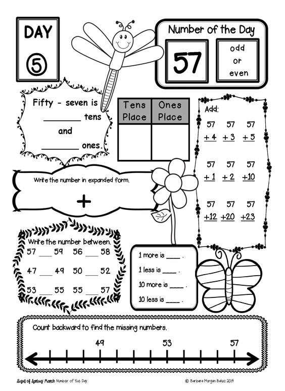 Number Sense Worksheets For First Grade – Number Sense Worksheets