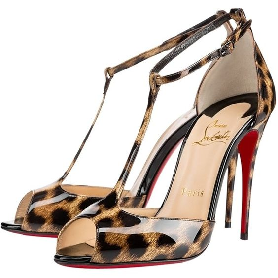 replica christian louboutins shoes - Pre-owned Christian Louboutin Senora Patent T-strap Red Sole 6 ...