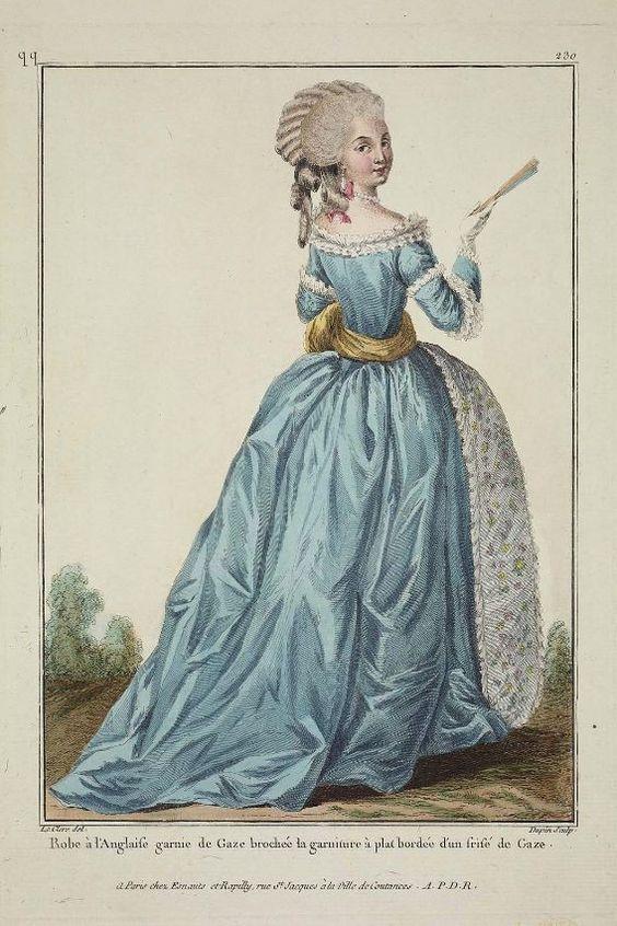 1-11-11  1782 fashion plate