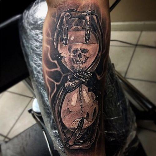 Relojes De Arena Tatuajes Y Su Significado Reloj De Arena
