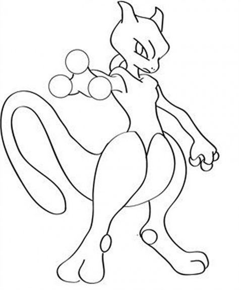 Mewtwo Pokemon Coloring Pages Pokemon Mewtwo Pokemon Coloring