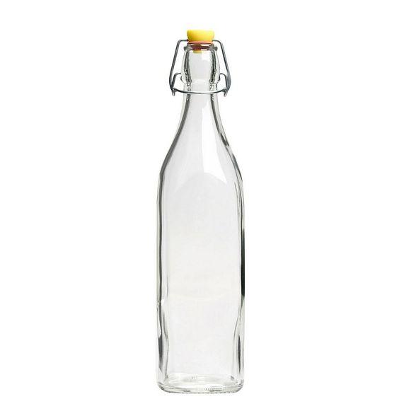 BUTLERS SWING Glasflasche mit Bügelverschluss,