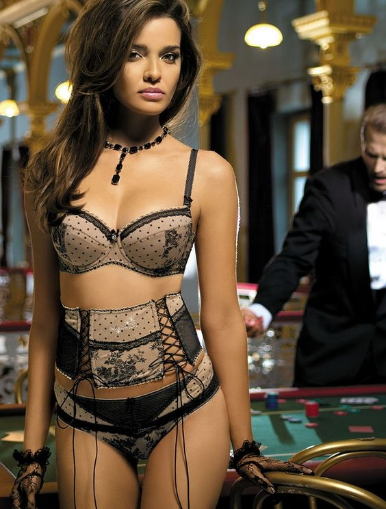 Herika Noronha Bond Girls Ss12 Lingerie Collection The