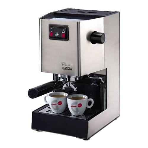 Die Gaggia RI9303/11 Classic Siebträgermaschine für Espresso in unserem Testbericht 2015. Erfahrung und günstige Kaufempfehlung dieser tollen Kaffeemaschine